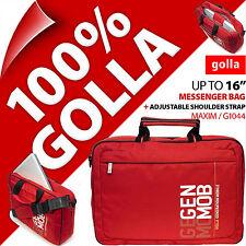 "New Golla 16"" For 15.6"" Laptop Sleeve Bag Padded Carry Case + Shoulder Strap"