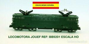 LOCOMOTORA-JOUEF-BB9201-ESCALA-HO-TRENES-MODELISMO-FERROVIARIO-VAGONES-V-AS-TREN