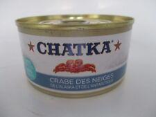 Chatka Selektion Schneekrabbe 40 % Beinfleisch 60 % Körperfleisch 180 g/110 g