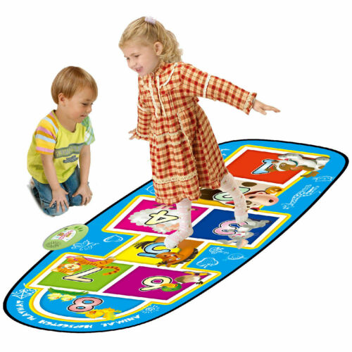 KIDS ELECTRONIC ANIMAL HOPSCOTCH MUSICAL TOUCH PLAY MAT MUSIC SOUND FUN PLAY TOY