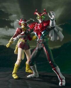 Kamen Rider S.I.C Vol 55 Masked Rider Stronger /& Tackle Action Figure Set