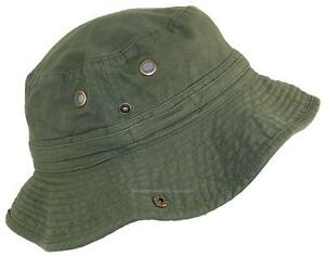Tropic Hats Summer Floppy Bucket Cap W Snap Up Sides  906 Olive ... e5ca1238d47b