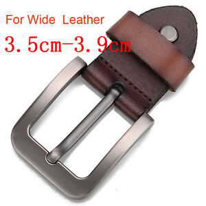 Fashion-Classic-alloy-men-039-s-Belt-buckle-pin-buckle-For-Wide-1-5-034-3-8cm-Leather
