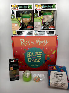 Blips /& Chitz Funko Pop! Arcade Collectors Box *BRAND NEW* Rick and Morty