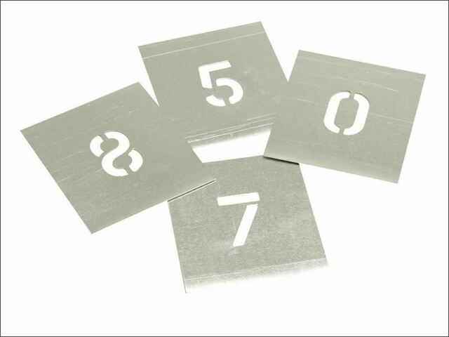 Plantillas - Conjunto de Plantillas de Zinc - Figuras de 1 pulg.