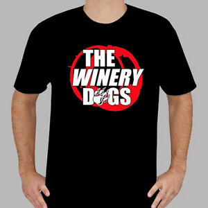 ef0e69b7fe7b New THE WINERY DOGS Rock Band Logo Men's Black T-Shirt Size S to 3XL ...