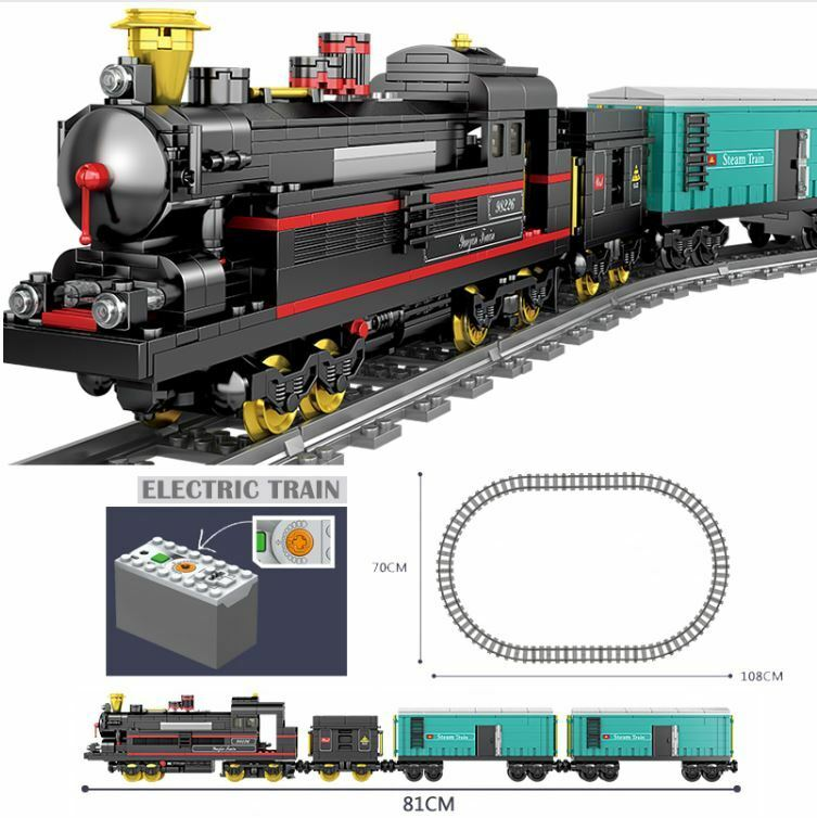 Kazi  Battery powered City Steam Train