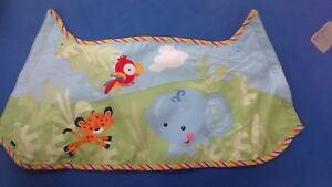 Details About Fisher Price Rainforest Swing Back Yoke Cover For The Older Model Cradle N Swing