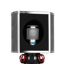 Studio Recording Microphone Foam Isolation Shield Mic Pop Filter Sound Absorbing