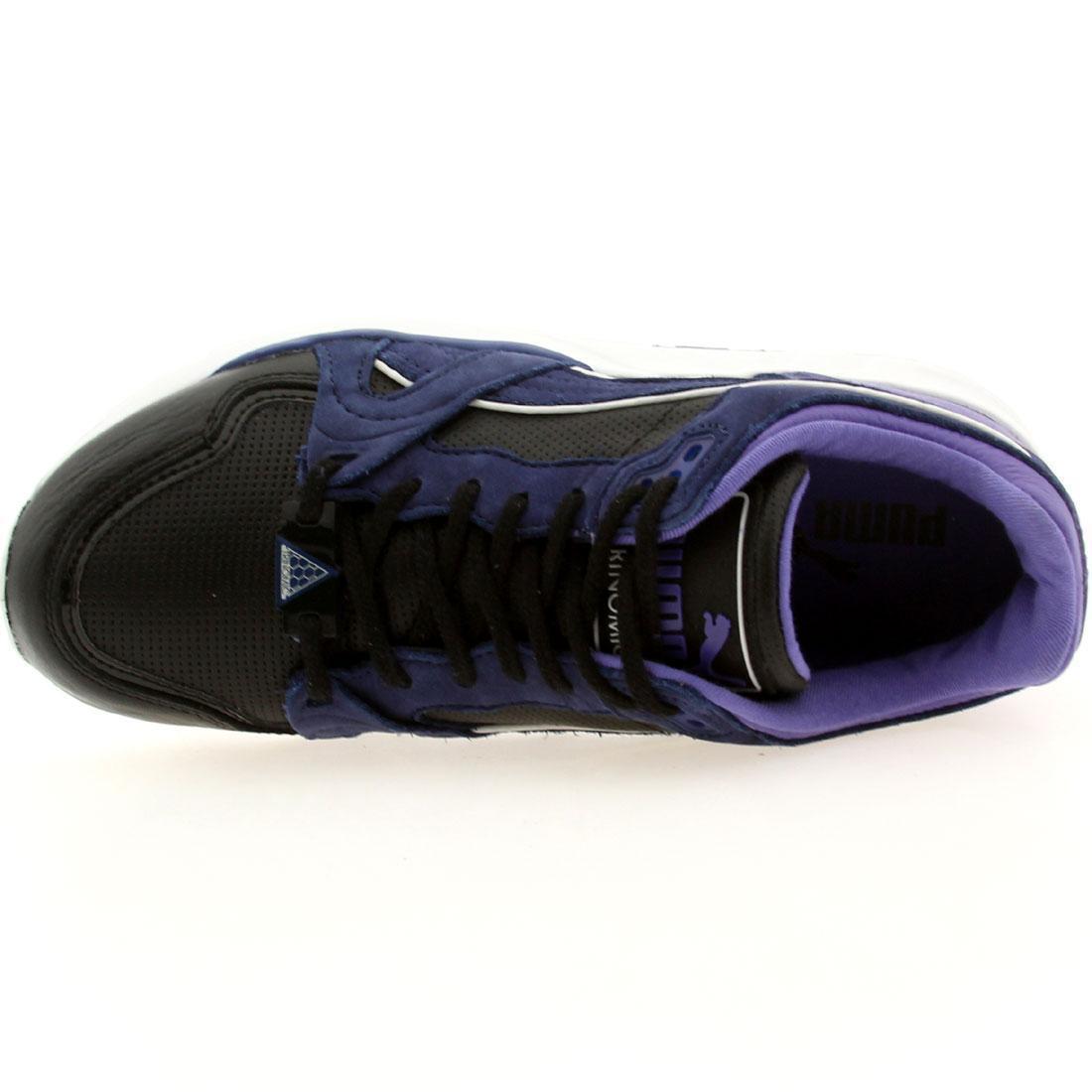 109.99 (bleu  xt1 puma femmes trinomic plus cuir perf (bleu 109.99 / noir) 358059-01 e8e8cc