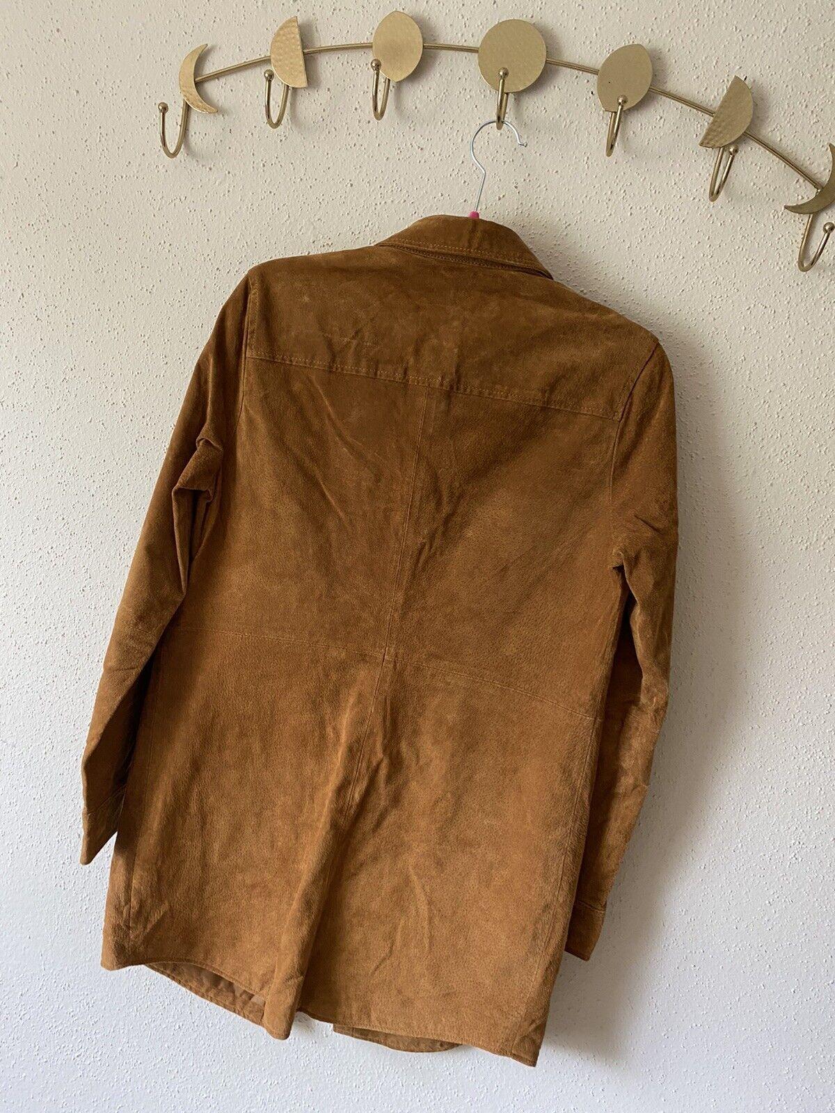 forever 21 leather jacket Shirt Size M - image 6
