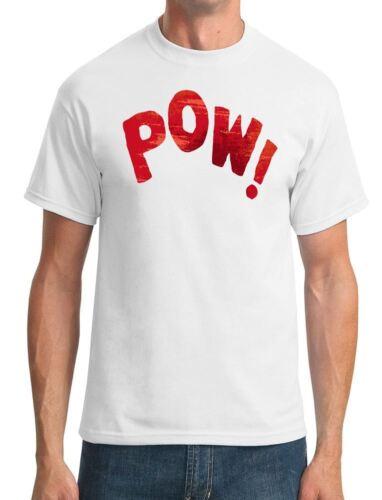 Mens T-Shirt POW Fight Noise