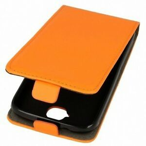 Funda-de-proteccion-para-movil-LG-G4-Lapiz-Tactil-Orange-Imitacion-cuero