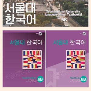 Seoul National University 6b Korean Student S Book Work Book Cd Advanced Ebay