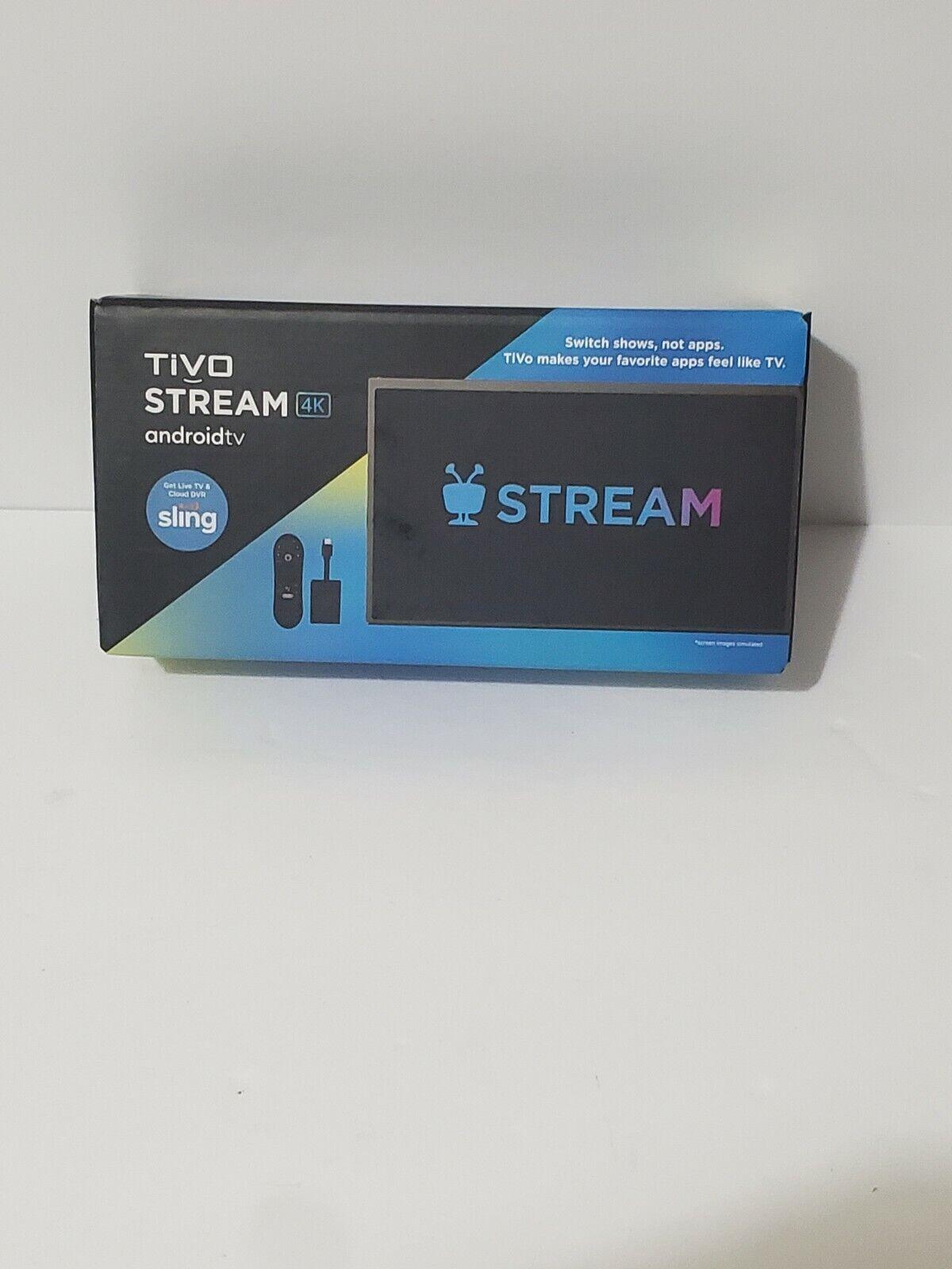 TiVo Stream 4K Android Media Player BRAND NEW!  Free Shipping! SEALED android brand media player sealed stream tivo
