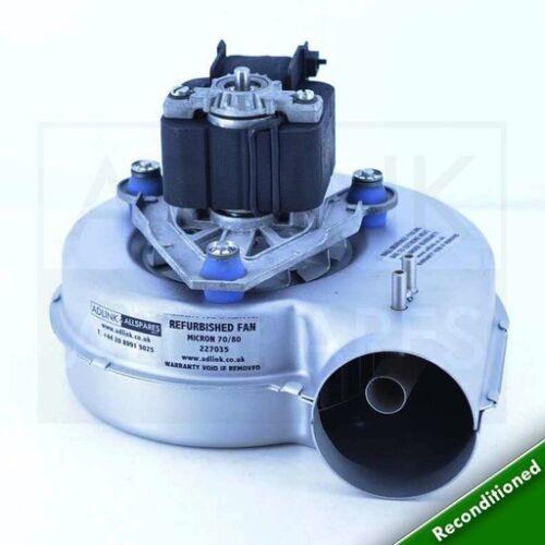 Glowworm Micron 70FF /& 80 Chaudière Ventilateur 227035 a S227035 Avec Garantie de 1 an