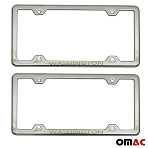 Ford Script Mirroed Chrome Stainless Steel License Plate Frame