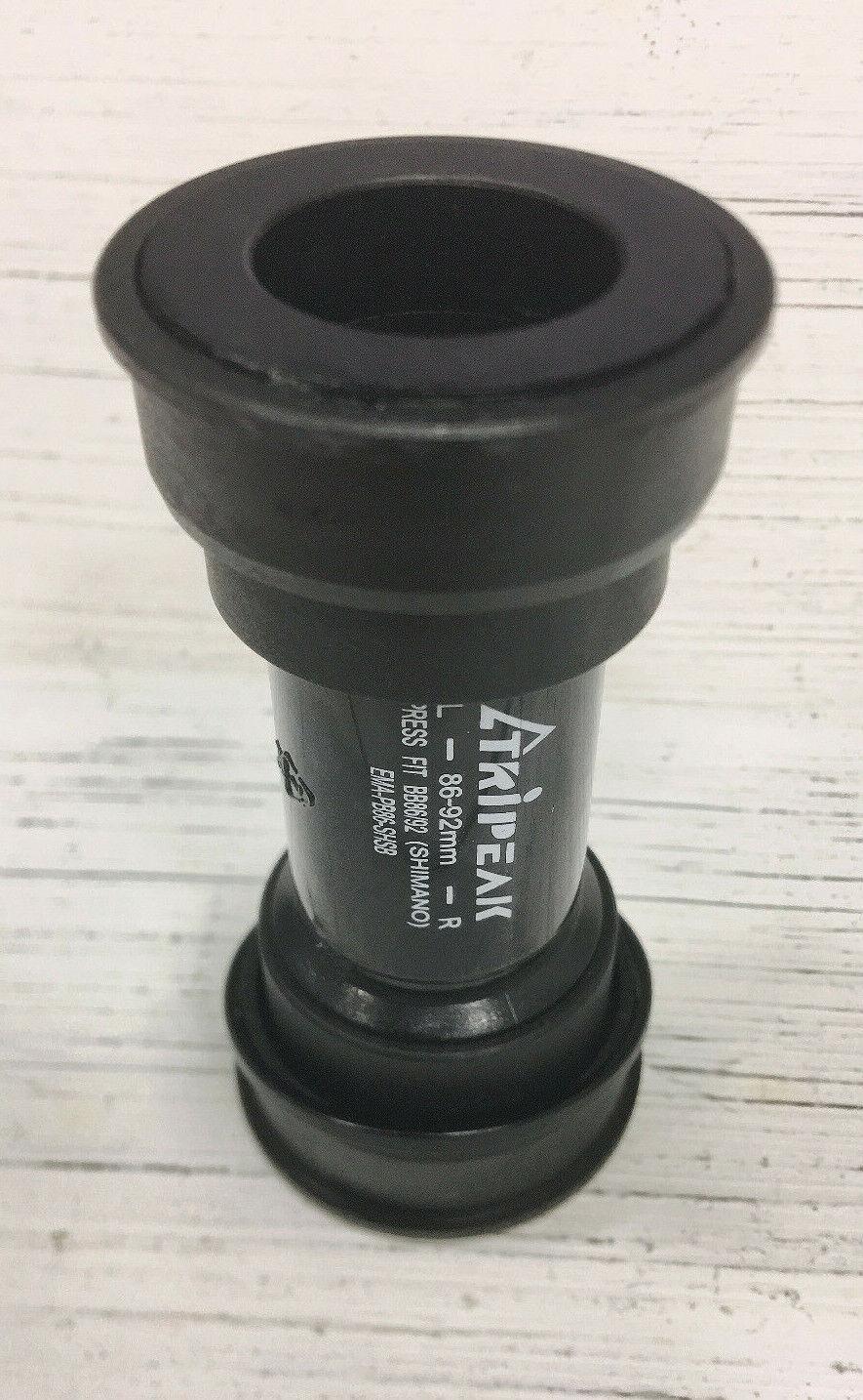 Tripeak Bottom Brackets BB86/&89 For 24 EMA-PB86-SHCB 92//41x86.5mm Ceramic