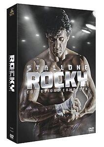 ROCKY-LA-COLLEZIONE-COMPLETA-6-DVD-COFANETTO-SAGA-con-Sylvester-Stallone