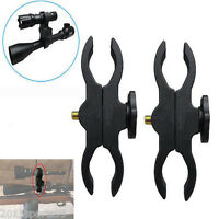 2x Adjustable Barrel Mount Scope Holder For Flashlight Telescope Sight Guns 5