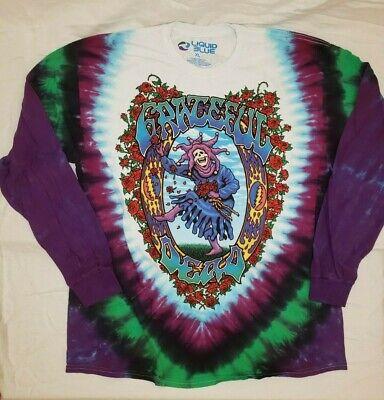 Grateful Dead Watchtower Long Sleeve Tie-Dye T-Shirt All Sizes New