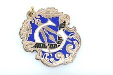 Antique Gold Filled Masonic Enamel Watch Fob
