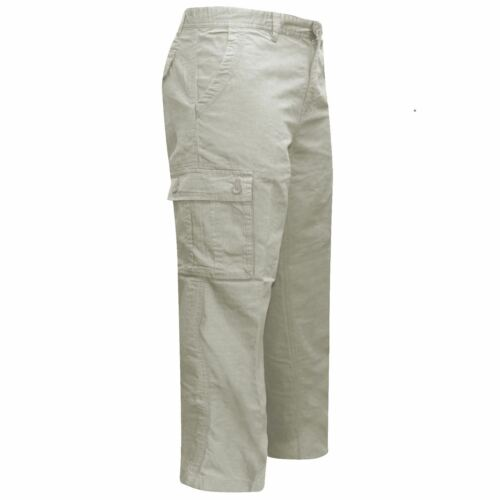 Mens Formal Work Trousers Cotton BHS Brand Work Multi Pockets Waist Sizes 32-46