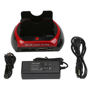 2-5-3-5-Dual-Hard-Drive-HDD-Docking-Station-USB-Dock-Card-Reader-IDE-SATA-HUBFT