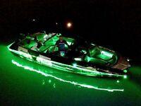 New____led___boat___lights____pontoon Anchor Paddle Oar Fishing Pole Holder Hot