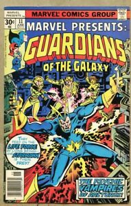 Marvel-Presents-11-1977-fn-6-0-Guardians-Of-The-Galaxy-Death-of-Starhawk-039-s-Chil