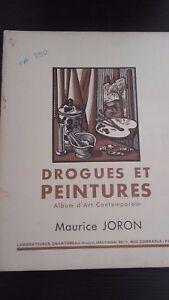 Medecines E Peintures Album D Arte M. JORON N°45 Parigi Stampe