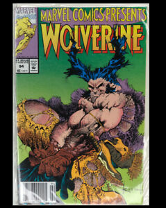 Marvel-Comics-Presents-94-1991-Marvel-Wolverine-artist-Kieth-NEAR-MINT