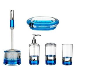 Clear Acrylic Bathroom Accessories With, Clear Bathroom Accessories