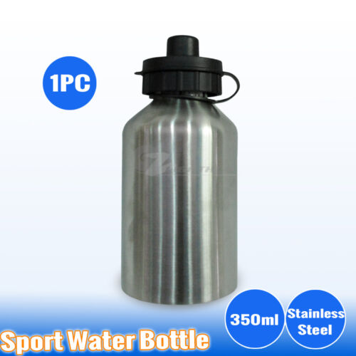 Stainless Steel Office Backpack Water Bottle Sport Outback Training Gym Camping