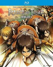 Attack on Titan: The Complete Season One (Blu-ray Disc, 2017, 4-Disc w/slipcase)