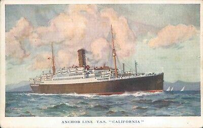 Cunard QEII 2001 Queen Mary 2204 Marine art postcards
