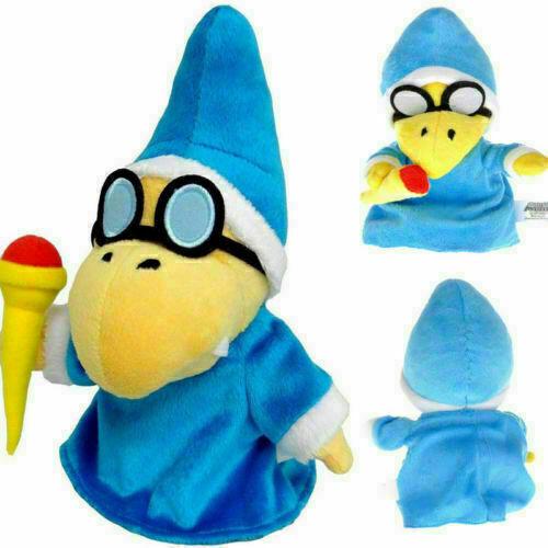 """Super Mario Magikoopa Kamek PLUSH 7/"""" Jouet Animaux Chiffre magique jouet doux Cadeaux S"""