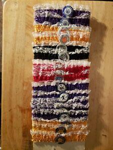 Vintage 1960s NFL AFL Pins- 11 Teams 30 pins & garters RARE--Excellent Condition