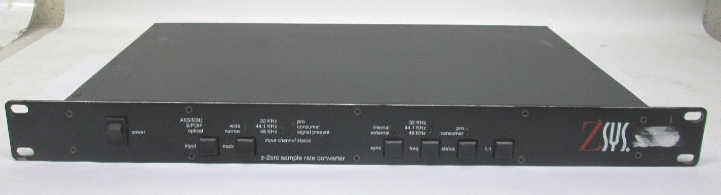 ZSYS Z-Systems Sample Rate ConGrüner Z-2SRC