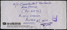 Pakistan 1999 Registered Commercial Cover To Austria #C39159
