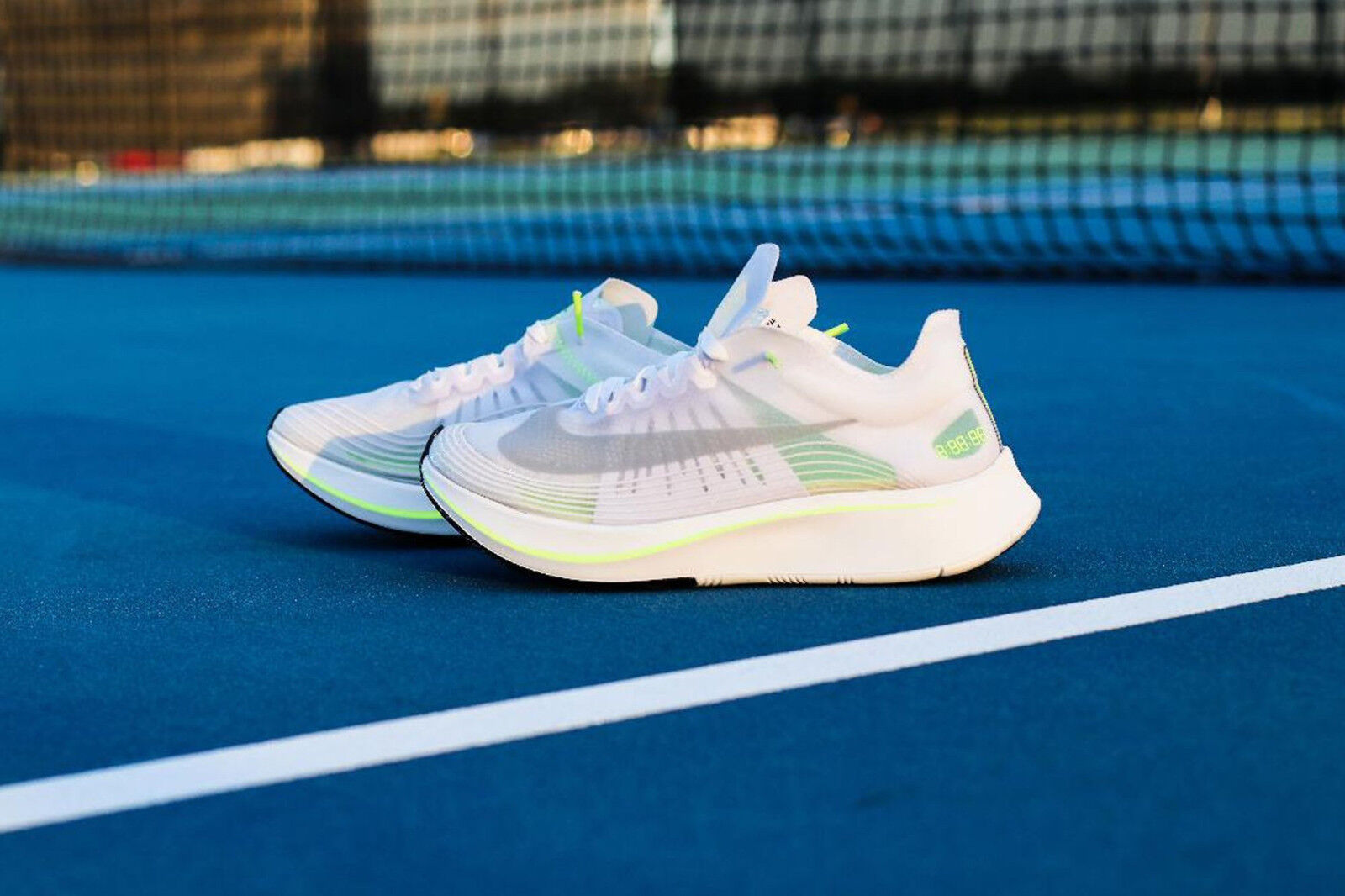 Nike Zoom Fly Bianco Volt Glow Summit Bianco UK8