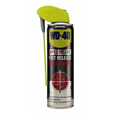 WD-40 44399 Specialist Fast Release Penetrant 250ml Smart Straw Garage