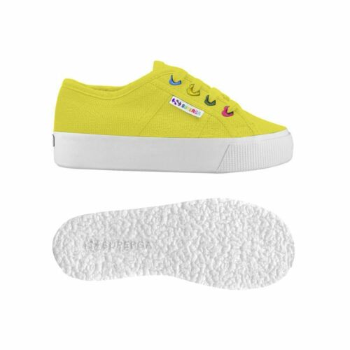 Superga Lady Shoes Girl 2730-COTJ COLORS HEARTS Leisure Wedge