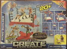 Create a WWE Superstar Ring Builder 20+ ring combonations night of champions new