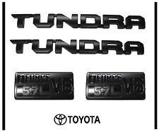 2014 2015 2016 2017 TOYOTA TUNDRA NEW TRD-PRO  BLACK EMBLEM LOGO NAMEPLATE  KIT