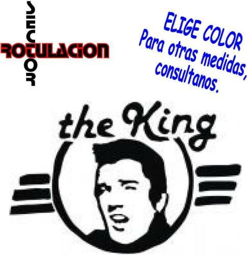 ref1459 Elvis Presley Music ROCK AND ROLL BAND PEGATINA VINILO STICKER ADHESIVO