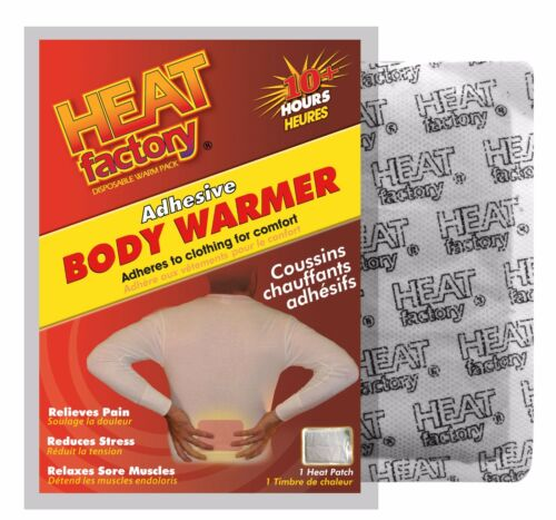 sore muscles Adhesive Body Warmers-40 units Great for back pain cramps #3110