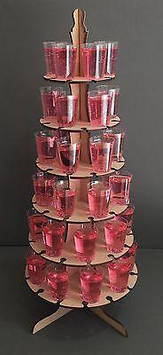 Affidabile Y72 Bicchierino Tavolo Stand Candy Cart Display Titolare Festa Matrimonio Compleanno-