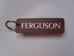 Ferguson Tracteur Porte-clés Fob Pour Vintage Ou Antique-afficher Le Titre D'origine