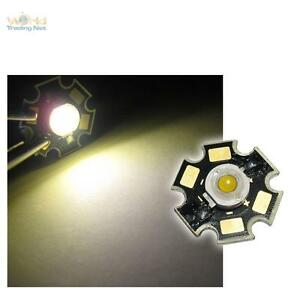 10-x-Alto-rendimiento-LED-Chip-3W-blanco-calido-HIGHPOWER-STAR